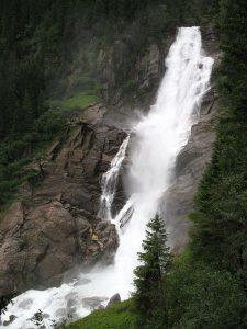 Krimmler Wasserfälle Foto: Andrew Bossi aus der Wikipedia