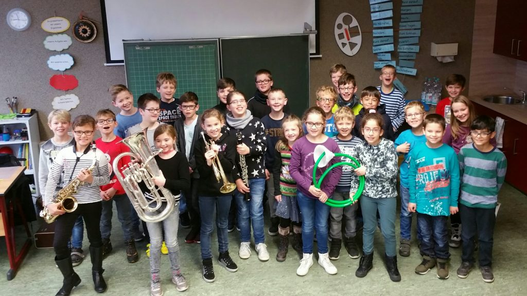 2017 - Jugendwerbung in der Grundschule Enkirch